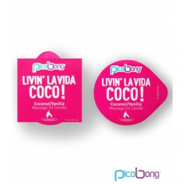 PicoBong - Bougies de Massage - Coconut / Vanilla